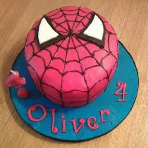 Spiderman Shape Kids Cake Patna