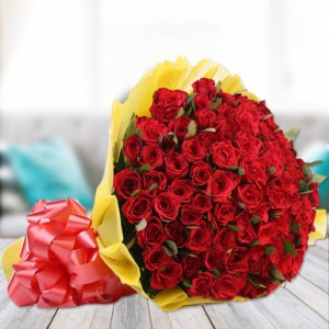 Radiant Love Roses Delivery Patna