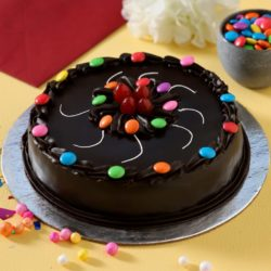 Chocolate truffle with Gems Cake in Patna